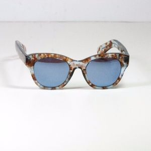 WILDFOX  Monroe Retro Acetate Frame Sunglasses